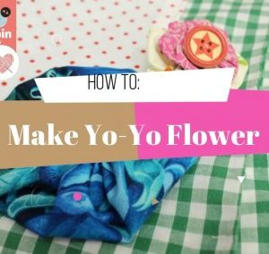 Make a Fabric Yo-Yo