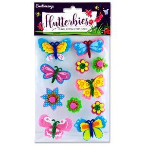 Butterfly Foam Sticker