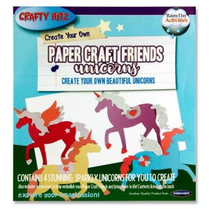 Paper Craft Unicorns