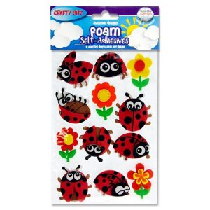 Ladybird Foam Stickers