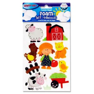 Farmyard Foam Stickers