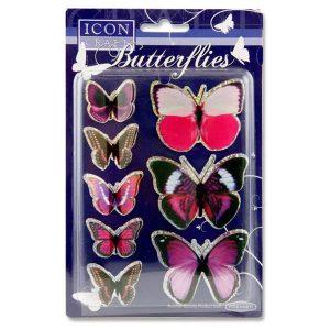 3D Foil Butterflies