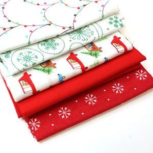 2m Fabric Bundle - Christmas Lights
