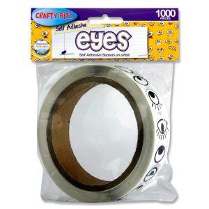 1000 Eye Stickers