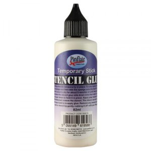 Stencil Temporary Glue