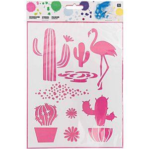 Cactus Stencil