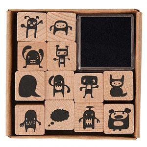 Monster Stamp Set