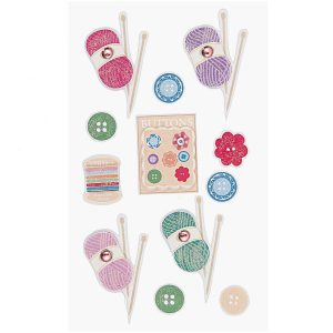 Paper Poetry 3D yarn Stickers