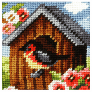 My First Embroidery: Bird House