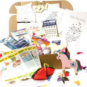 Unicorn - Personalised Craft Box