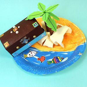 Treasure Chest & Island - Crafty Kid's Box