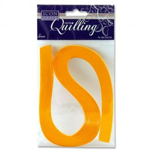 Quilling Strips Golden