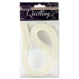 Quilling Strips White