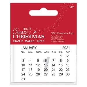 2021 Calendar Tabs