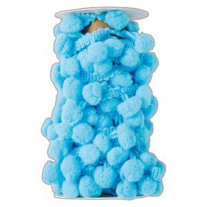 Pom-Pom Trim-Ice Blue
