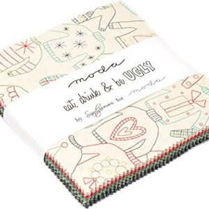MODA Fabric Eat, Drink & Be Ugly Charm Pack