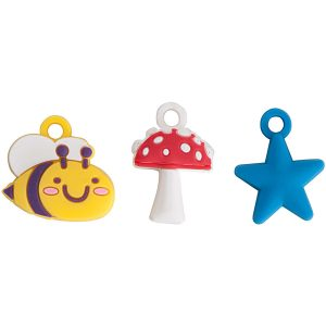 Rico Jewellery Charms Bee and Mushroom