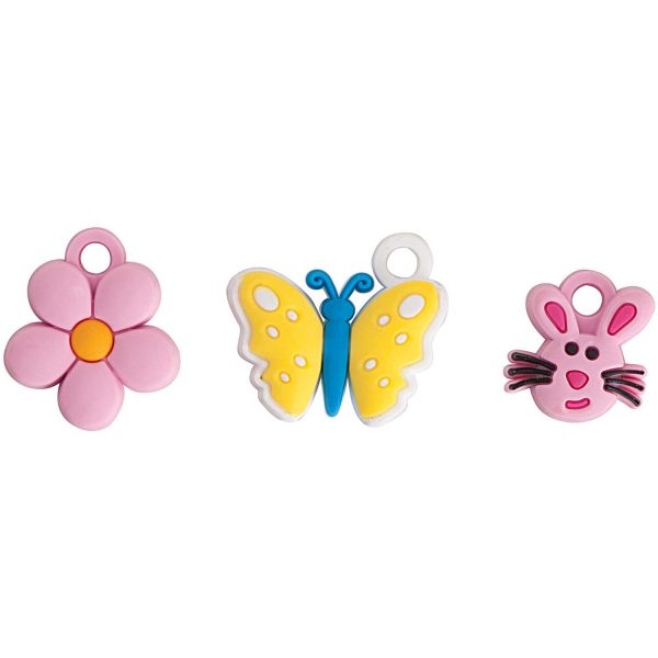 Rico Jewellery Charms Flowers and Butterflies