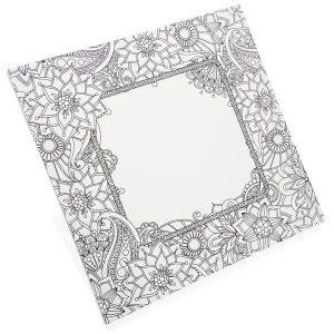 Canvas - Flower Frame