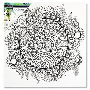 Canvas - Floral Mandala