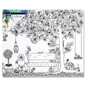 Canvas - Garden Bench