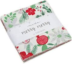 MODA Fabric Merry Merry Charm Pack
