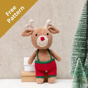 Ricorumi Reindeer Crochet Kit