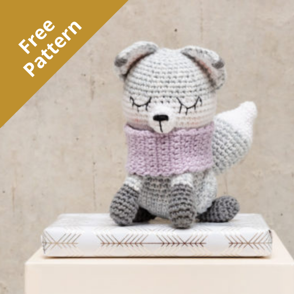 Ricorumi Artic Fox Crochet Kit