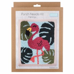 Flamingo Punch Needle Kit