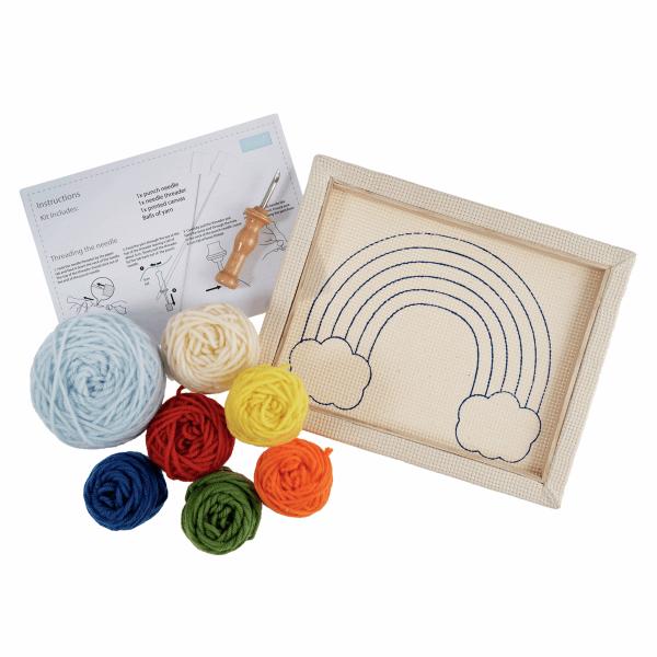 Rainbow Punch Needle Kit 1