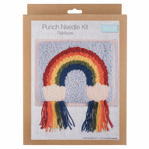 Rainbow Punch Needle Kit