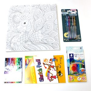 Tweens Colouring Set