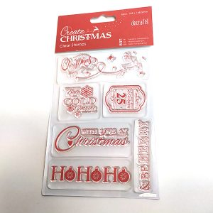 Christmas Sentiments Stamps