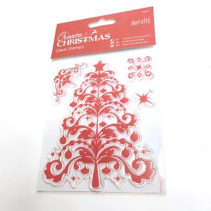 Christmas Tree Flourishes Stamps