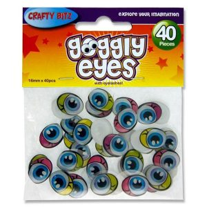 Coloured Goggly Eyes