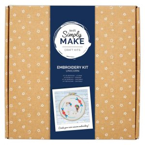 Embroidery Kit - Unicorn