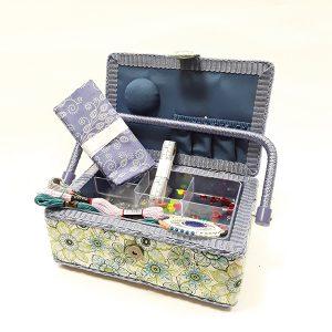 Violet Sewing Box & Supplies