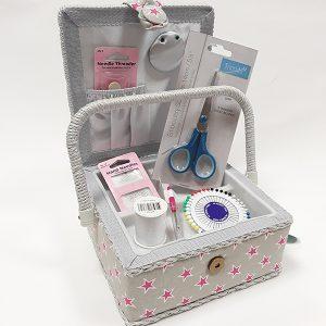 Star Sewing Box & Supplies