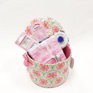 Peonies Sewing Box & Supplies