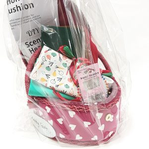 Heart Sewing Box & Supplies