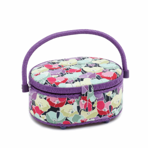 Spring Flowers Sewing Box