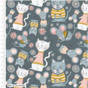 Kitty Garden Cats & Mice 2688-01