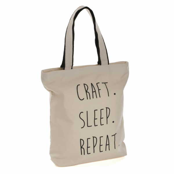 'Craft Sleep Repeat' Tote Bag