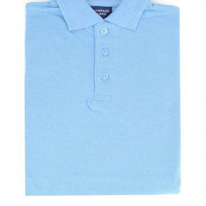 Kid's Blue Polo Shirt