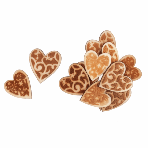 Wooden Hearts Assorted