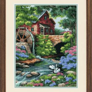 Needlepoint Kit: Old Mill Cottage
