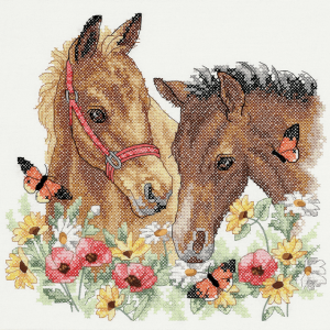 Stamped Cross Stitch: Horse Friends