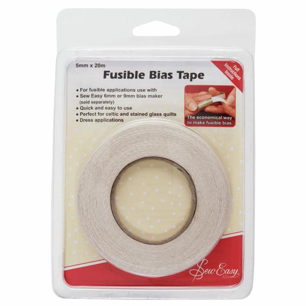 Fusible Bias Tape 5mm x 20m