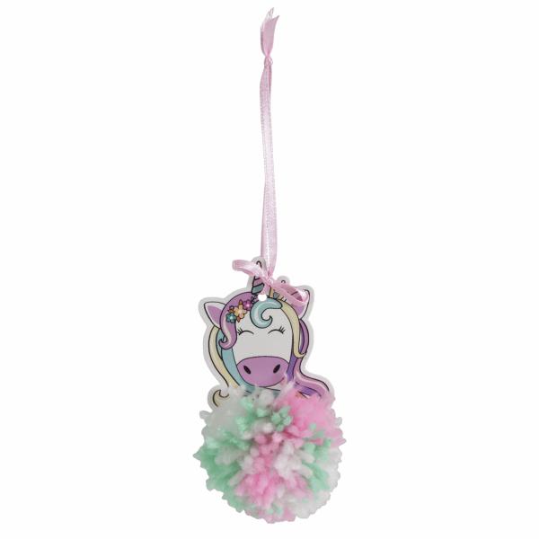 Pom Pom Decoration Kit: Unicorn