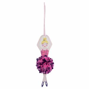 Pom Pom Decoration Kit Ballerina